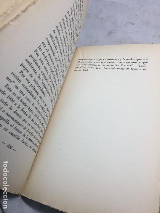 Libros antiguos: La redención de las provincias 1931 José Ortega y Gasset Revista de Occidente 1931 artículos Intonso - Foto 7 - 108299551