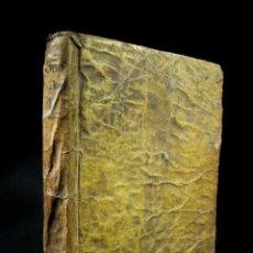 Libros antiguos: AÑO 1791 MANUSCRITO ANTIRROBO DE LA ÉPOCA FILOSOFÍA ENCUADERNACIÓN PERGAMINO LÓGICA MADRID MATRITI. Lote 108677995