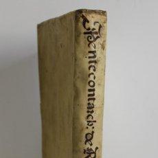 Libros antiguos: PENTEKONTARCHOS SIVE QUINQUAGINTA MILITUM DUCTOR ... STIPENDIIS CONDUCTUS. - RAMÍREZ DE PRADO, LOREN. Lote 109024436