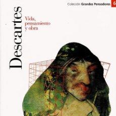 Libros antiguos: DESCARTES - VIDA, PENSAMIENTO Y OBRA. Lote 111014171