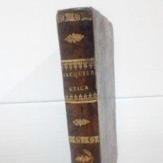 Libros antiguos: INSITUTIONES PHILOSOPHIAE TOMO V, ETICA MADRID 1832. Lote 112104287