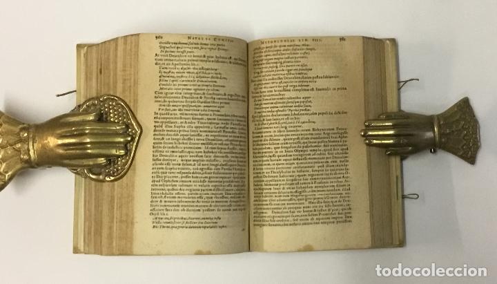 Libros antiguos: NATALIS COMITIS MYTHOLOGIAE, SIVE EXPLICATIONIS FABULARUM, Libri decem... COMES, Natale. 1596. - Foto 4 - 109020963