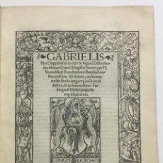 Libros antiguos: SUPPLEMENTUM IN OCTO ET VIGINTI DISTINCTIONES ULTIMAS QUARTI MAGISTRI SENTEN. PER D. VUENDELINUM STA. Lote 109023216