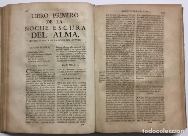 Libros antiguos: OBRAS ESPIRITUALES, QUE ENCAMINAN A UNA ALMA, a la mas perfecta union con Dios, en transformacion de - Foto 6 - 109021834