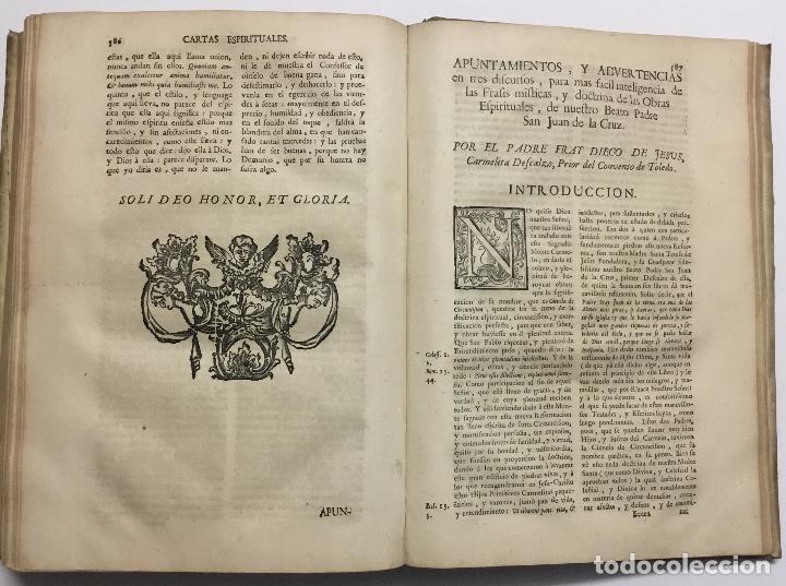 Libros antiguos: OBRAS ESPIRITUALES, QUE ENCAMINAN A UNA ALMA, a la mas perfecta union con Dios, en transformacion de - Foto 13 - 109021834