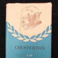 Libros antiguos: CHESTERTON. LAS QUINTAESENCIAS. 1941. Lote 113703727