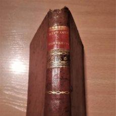 Libros antiguos: ANTIGUO LIBRO SIGLO XIX,ESPAÑA,REFRANES O PREVERBIOS DEL COMENDADOR HERNAN NUÑEZ,AÑO 1804,BIBLIOFILO. Lote 114030495