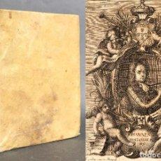 Libros antiguos: 1728 HISTORIAE PHILOSOPHIAE - HISTORIA DE LA FILOSOFIA - PERGAMINO. Lote 115052011