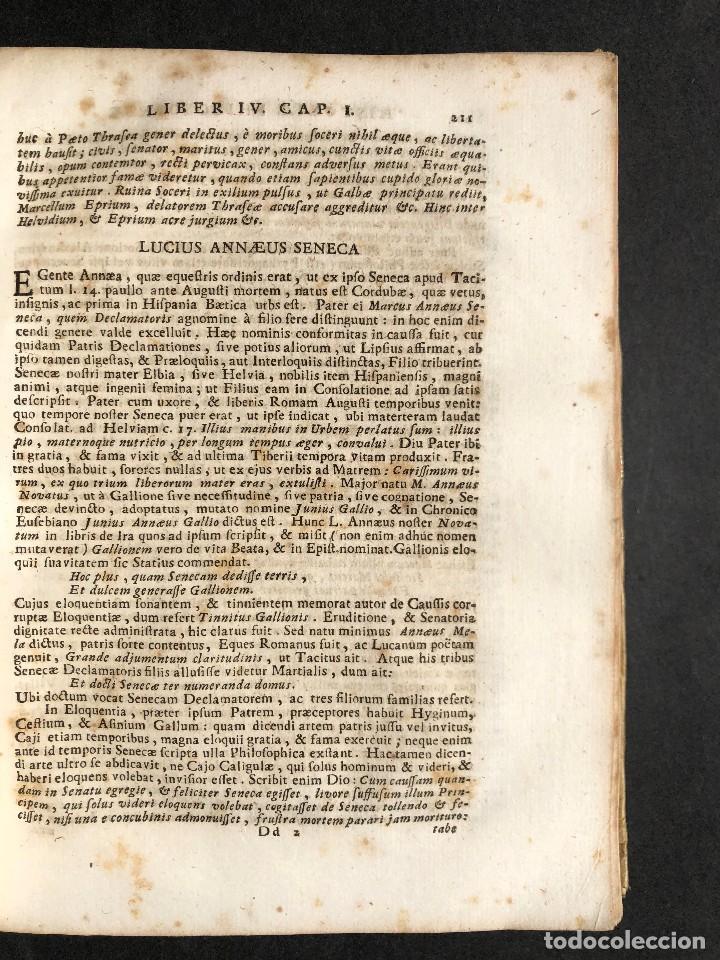 Libros antiguos: 1728 Historiae Philosophiae - historia de la filosofia - pergamino - Foto 28 - 115052011