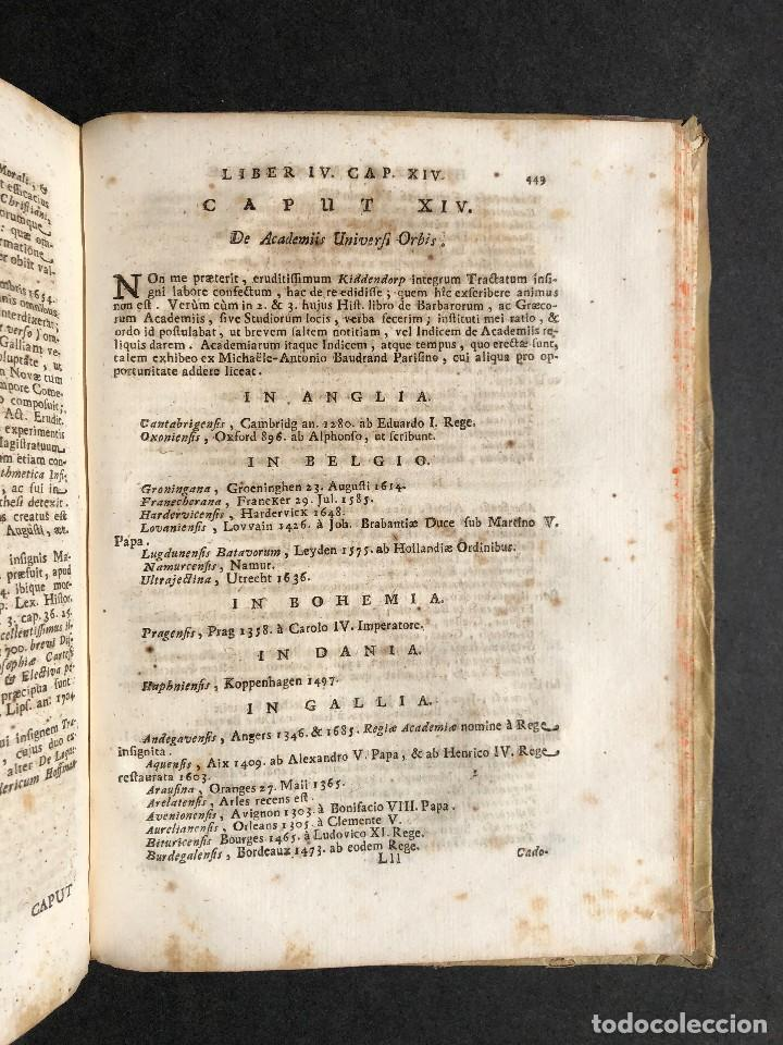 Libros antiguos: 1728 Historiae Philosophiae - historia de la filosofia - pergamino - Foto 44 - 115052011
