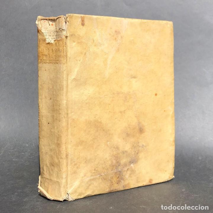 Libros antiguos: 1728 Historiae Philosophiae - historia de la filosofia - pergamino - Foto 47 - 115052011