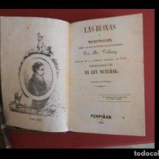 Libros antiguos: LAS RUINAS O MEDICTACION SOBRE LAS REVOLUCIONES DE LOS IMPERIOS. M. VOLNEY. Lote 116105127