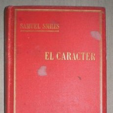 Libros antiguos: SMILES, SAMUEL: EL CARACTER. 1890. Lote 50372130