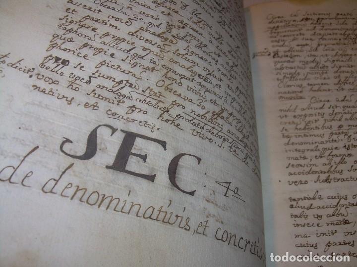 Libros antiguos: IMPORTANTISIMO LIBRO TAPAS DE PERGAMINO....MANUSCRITO.....METAFISICA. - Foto 16 - 56745651