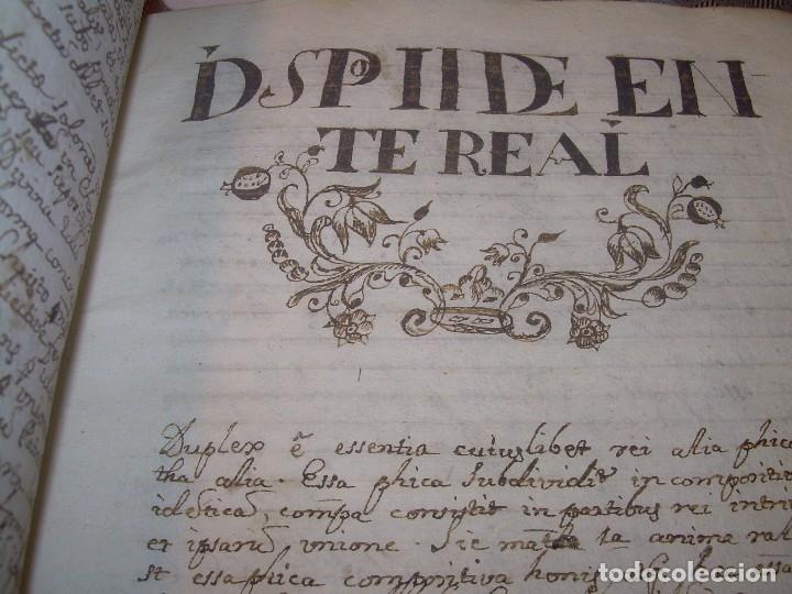 Libros antiguos: IMPORTANTISIMO LIBRO TAPAS DE PERGAMINO....MANUSCRITO.....METAFISICA. - Foto 17 - 56745651