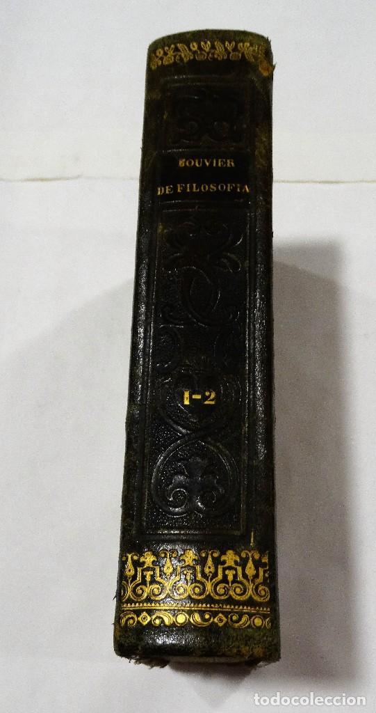Libros antiguos: HISTORIA ELEMENTAL DE LA FILOSOFIA -1846 TOMOI Y TOMOII-BOUVIER - Foto 2 - 122458639