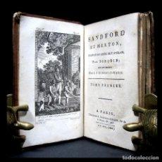 Libros antiguos: AÑO 1802 CRÍTICA SOCIAL FILOSOFÍA SANDFORD ET MERTON GRABADOS A PLENA PÁGINA ROUSSEAU. Lote 122731103
