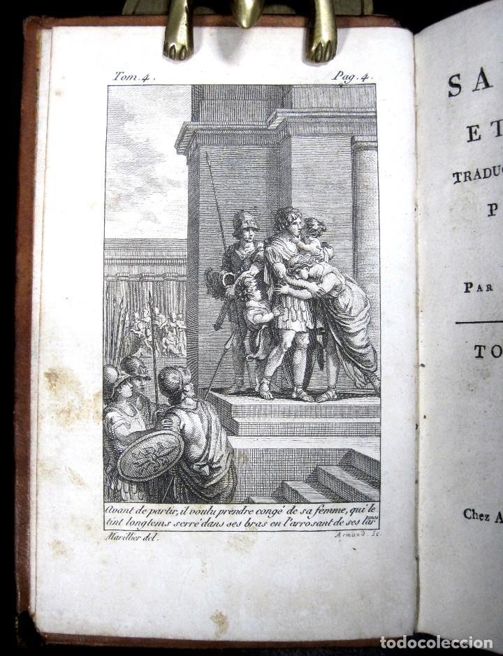 Libros antiguos: Año 1802 Leónidas Rey de Esparta Filosofía Crítica Social Sandford et Merton Grabados Rousseau - Foto 3 - 122832603