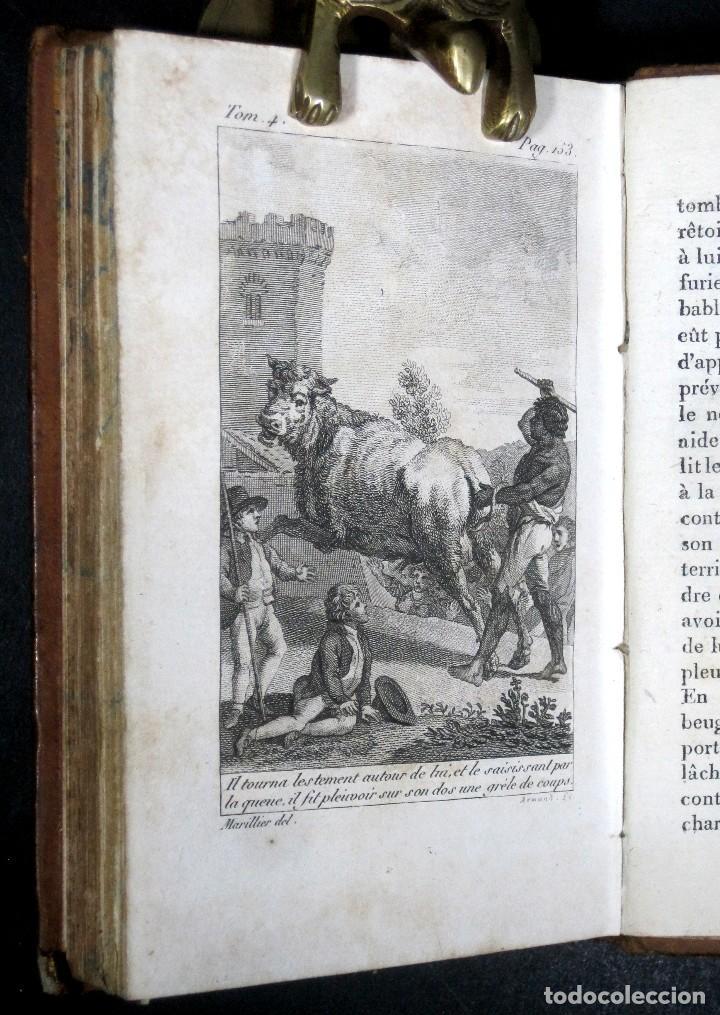 Libros antiguos: Año 1802 Leónidas Rey de Esparta Filosofía Crítica Social Sandford et Merton Grabados Rousseau - Foto 6 - 122832603