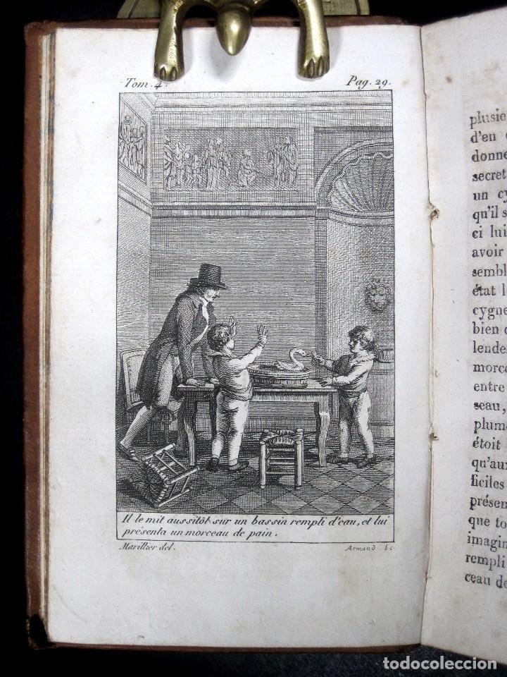 Libros antiguos: Año 1802 Leónidas Rey de Esparta Filosofía Crítica Social Sandford et Merton Grabados Rousseau - Foto 7 - 122832603
