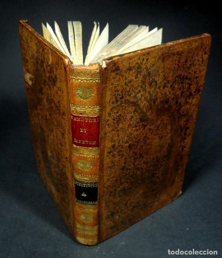 Libros antiguos: Año 1802 Leónidas Rey de Esparta Filosofía Crítica Social Sandford et Merton Grabados Rousseau - Foto 17 - 122832603