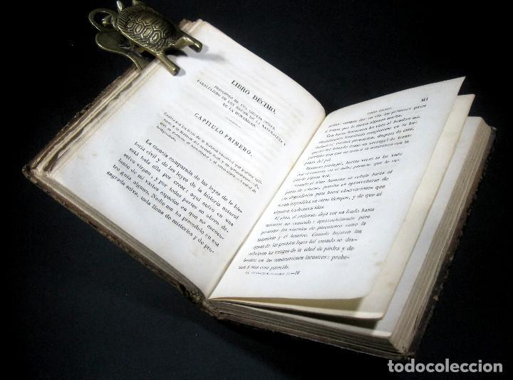 Libros antiguos: Año 1871 Antropología Filosofía Historia de la Humanidad Prehistoria Filología Quinet la Creación - Foto 6 - 123552843