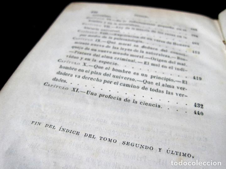 Libros antiguos: Año 1871 Antropología Filosofía Historia de la Humanidad Prehistoria Filología Quinet la Creación - Foto 8 - 123552843
