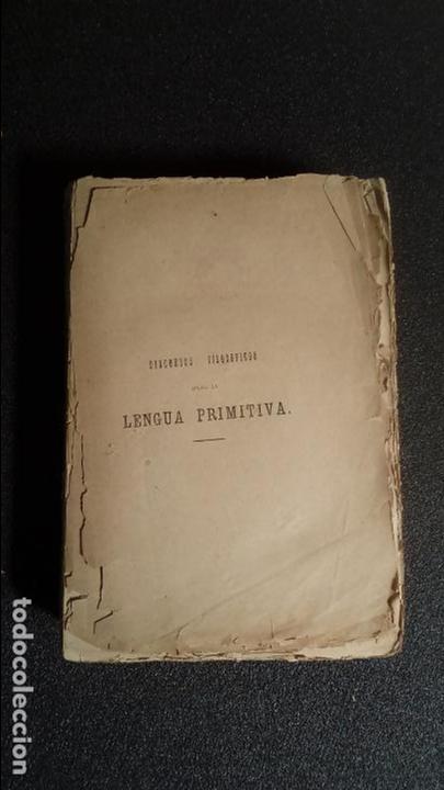 ESTUDIO FILOSÓFICO ACERCA DEL EUSKERA. (Libros Antiguos, Raros y Curiosos - Pensamiento - Filosofía)