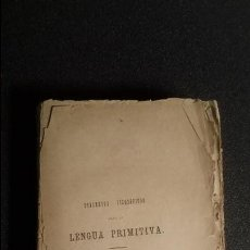 Libros antiguos: ESTUDIO FILOSÓFICO ACERCA DEL EUSKERA.. Lote 124390479