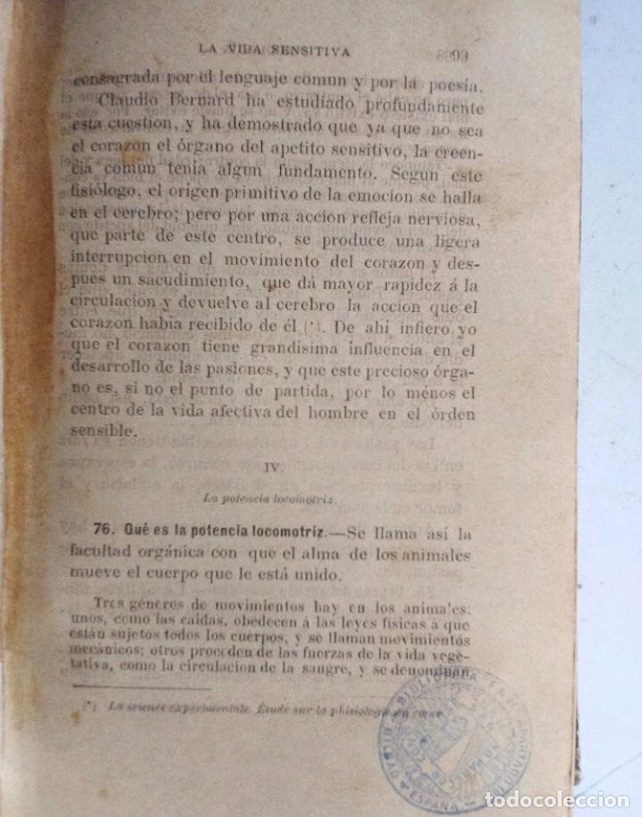 Libros antiguos: ELEMENTOS DE PSICOLOGÍA, LÓGICA Y ÉTICA. LUIS ELEIZALDE E IZAGUIRRE. 2 LIBRO EN 1 TOMO. MADRID 1886 - Foto 7 - 251044400