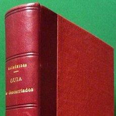 Libros antiguos: GUÍA DE DESCARRIADOS - MAIMÓNIDES - CENTRO DE ESTUDIOS HEBRAICOS - 1930 - ENCUADERNADO - NUEVO. Lote 126601979