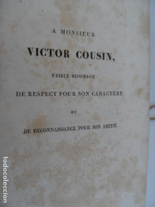 Libros antiguos: IDÉES SUR LA PHILOSOPHIE DE LHISTORIE DE LHUMANITE - PAR HERDER TOME PREMIER PARIS 1827. - Foto 5 - 129014607