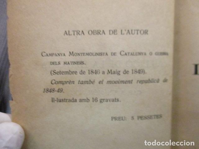 Libros antiguos: JOSEP LLORD : LA LLIÇÓ DE LA HISTÒRIA CAP A UN MÓN NOU (1927) - EN CATALÁN - Foto 8 - 129119499