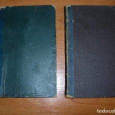 Libros antiguos: CURSO DE FILOSOFIA ELEMENTAL / LOGICA / ETICA / JAIME BALMES (2 LIBROS). Lote 130593142