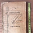 Libros antiguos: ESTUDIOS Y PASATIEMPOS. BLANCO Y GARCÍA, ANDRÉS. MURCIA 1901. Lote 131095244