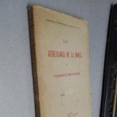 Libros antiguos: LA GENEALOGÍA DE LA MORAL / FEDERICO NIETZSCHE / MADRID SIN FECHAR HACIA 1900. Lote 131897166