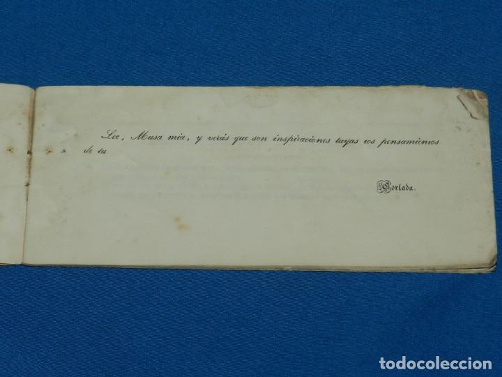 Libros antiguos: (MF) PENSAMIENTOS DE CORTADA , 2 EDC AUMENTADA , IMP. HEREDEROS DE VIUDA PLA 1868 - Foto 2 - 132492414