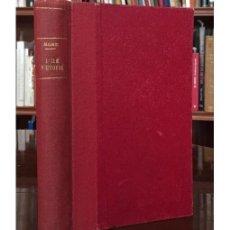 Libros antiguos: L'ILE D'UTOPIE OU LA MEILLEURE DES RÉPUBLIQUES. Lote 132865402