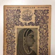 Libros antiguos: KALIDASA. SAKUNTALA. ADAPTACIÓ PER C. A. JORDANA. 1927. Lote 133626126