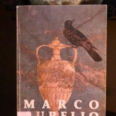 Livres anciens: MARCO AURELIO MEDITACIONES 1985. Lote 134107042