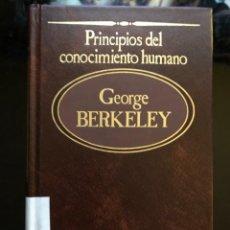 Libros antiguos: PRINCIPIOS DEL CONOCIMIENTO HUMANO GEORGE BERKELEY. Lote 134149782