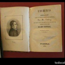Libros antiguos: LAS RUINAS Ó MEDITACIÓN SOBRE LAS REVOLUCIONES DE LOS IMPERIOS. M. VOLNEY. Lote 137729894