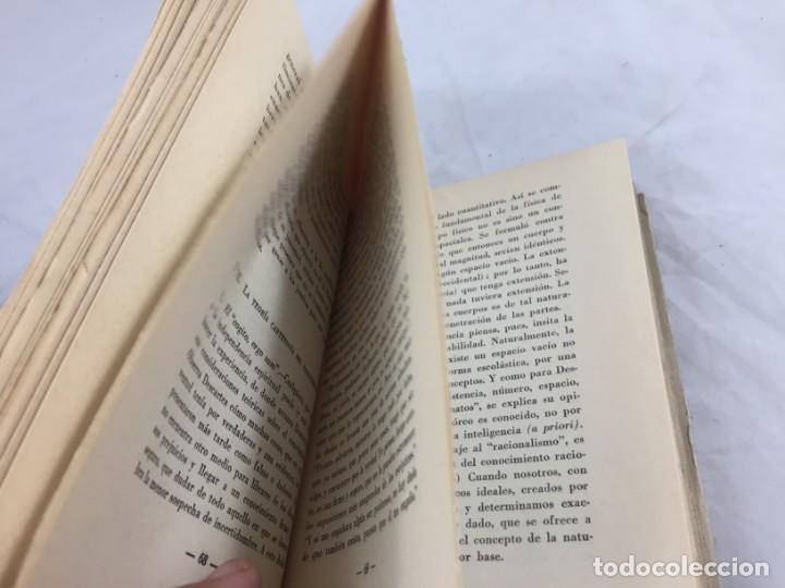 Libros antiguos: La Filosofía Moderna 1933 Augusto Messer del renacimiento a Kant buen estado 2ª edición intonso - Foto 6 - 138091110