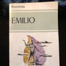 Libros antiguos: EMILIO ROUSSEAU EDAF 1ª EDICIÓN 1980. Lote 138182586