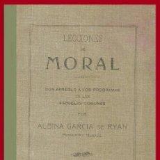 Libros antiguos: LECCIONES DE MORAL. ALBINA GARCIA DE RYAN. CAMPOAMOR. GABRIEL Y GALAN. BUENOS AIRES 1808.. Lote 141785218