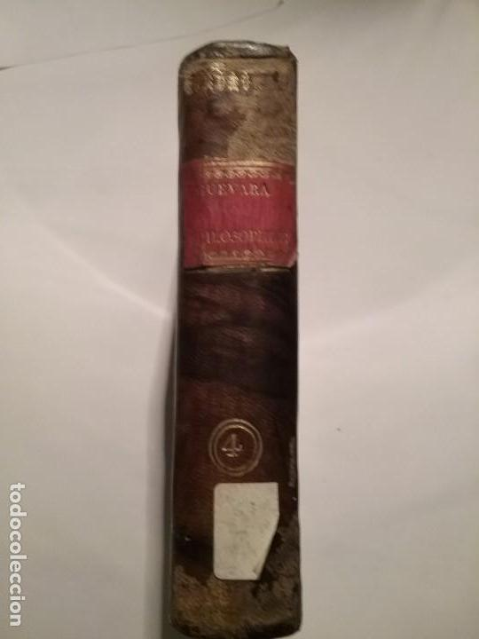 Libros antiguos: INSTITUTIONUM ELEMENTARIUM PHILOSOPHIAE - Foto 2 - 142925194