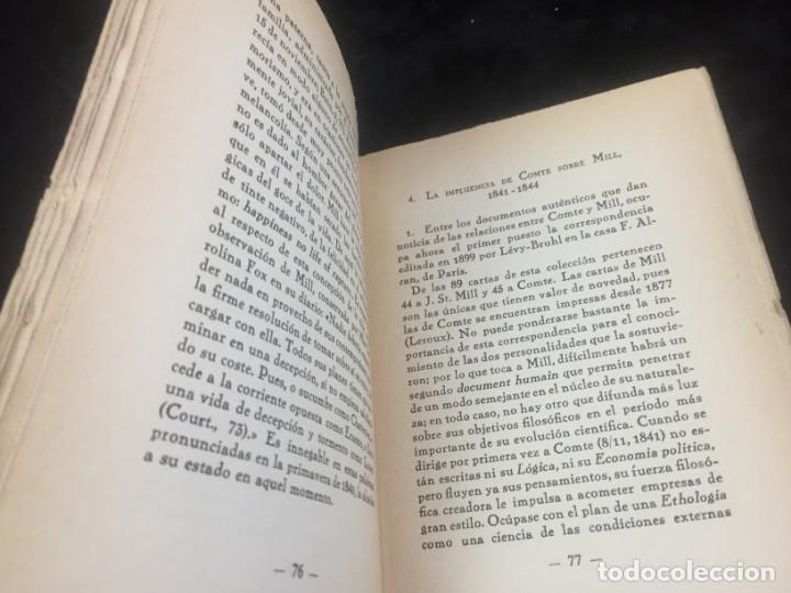 Libros antiguos: Stuart Mill por Samuel Saenger Revista de occidente 1930 coleccion los filosofos II - Foto 5 - 143578782