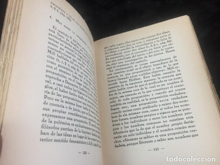 Libros antiguos: Stuart Mill por Samuel Saenger Revista de occidente 1930 coleccion los filosofos II - Foto 9 - 143578782