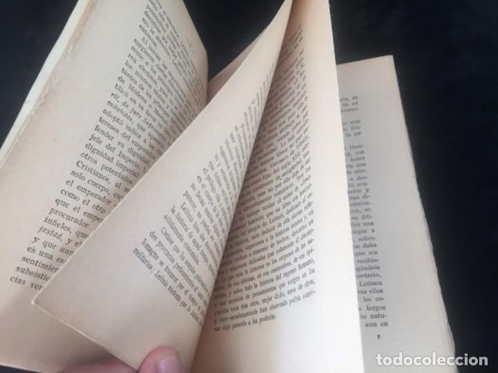 Libros antiguos: Leibniz Pensamientos 1934 rústica original intonso Nueva Biblioteca filosófica sin desbarbar - Foto 5 - 143682950