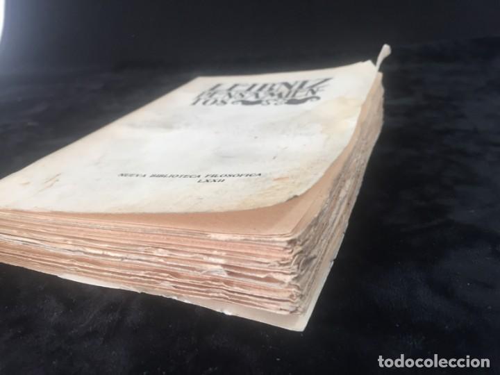 Libros antiguos: Leibniz Pensamientos 1934 rústica original intonso Nueva Biblioteca filosófica sin desbarbar - Foto 8 - 143682950